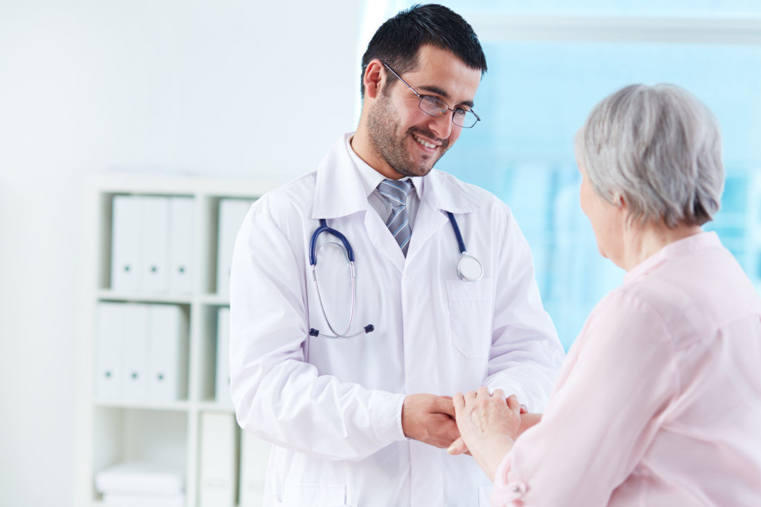 physical therapy services open door doctor with patient