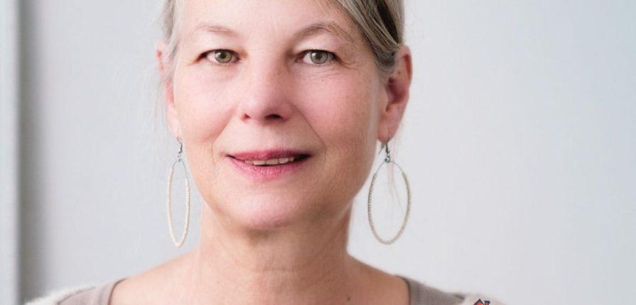 Beautiful senior woman seems for caregiver