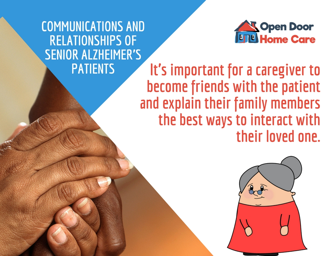 communication with Alzheimer's patients