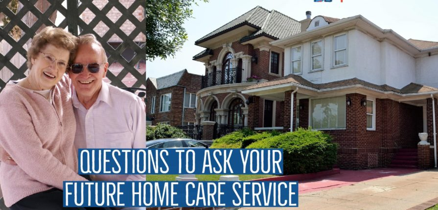 smiling senior couple is about to choose senior home care service in new york and nassau county