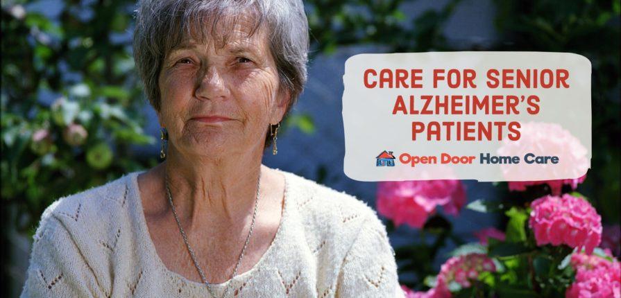 senior patient with Alzheimer's disease
